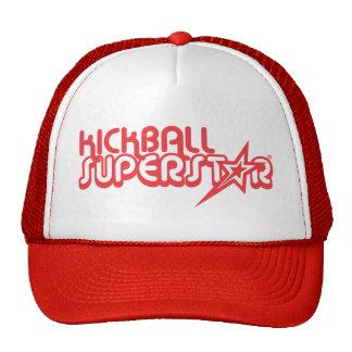 Superestrella de Kickball Gorras