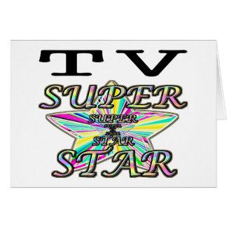 Superestrella de la TV Tarjeta