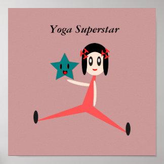 Superestrella de la yoga poster