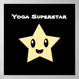 Superestrella de la yoga póster