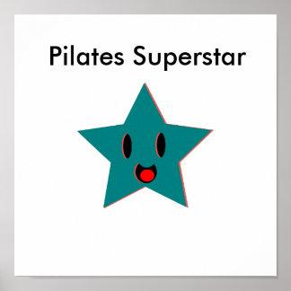 Superestrella de Pilates Posters