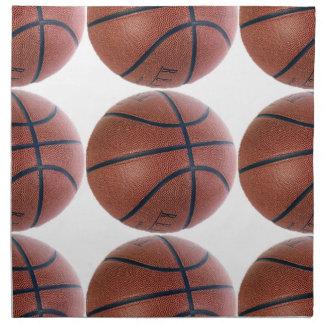 Superestrella del baloncesto servilleta imprimida