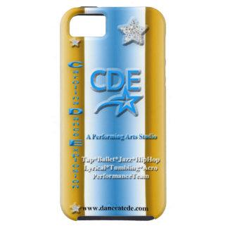 Superestrella del caso del iPhone 5/5s de CDE iPhone 5 Carcasas