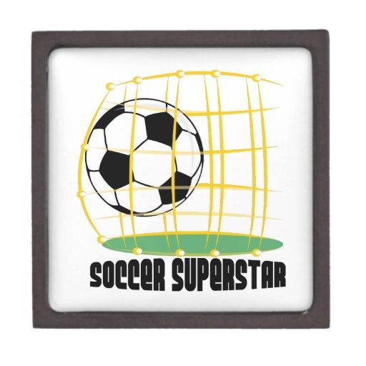 Superestrella del fútbol cajas de regalo de calidad