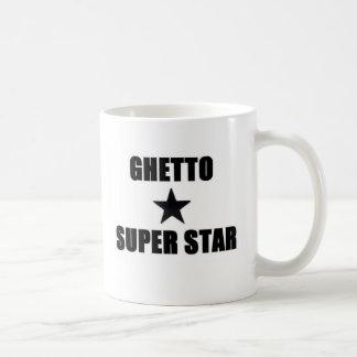 Superestrella del ghetto tazas