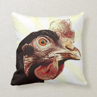 Superestrella gruñona enrrollada del pollo almohadas