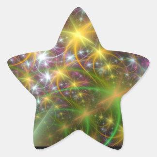 Superestrella Pegatina En Forma De Estrella