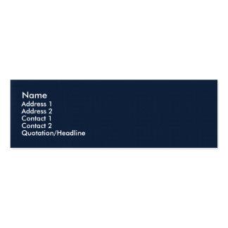 Superficie azul retra agraciada simple tarjeta de visita