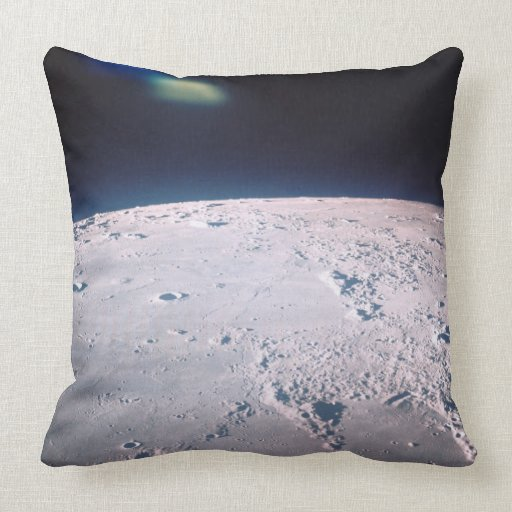 Superficie de la luna 6 almohadas