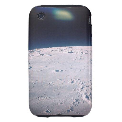 Superficie de la luna 6 carcasa resistente para iPhone