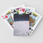 Superficie de la luna 6 cartas de juego