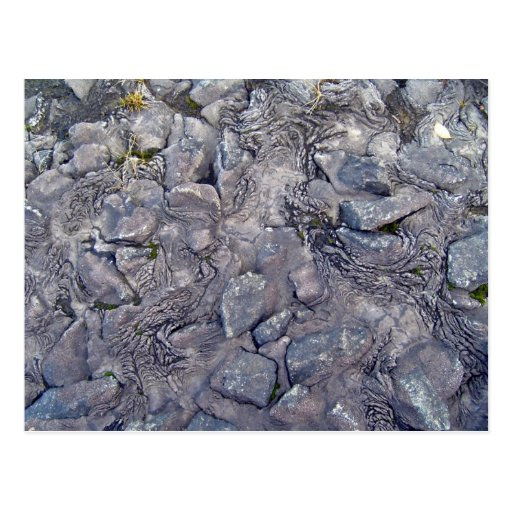 Superficie de la roca de la lava postales