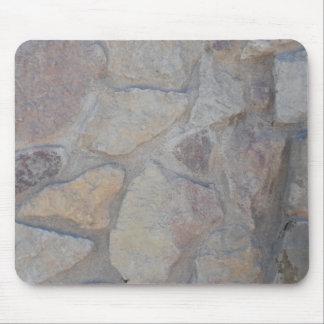 Superficie de la roca tapetes de ratones
