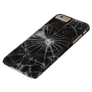 superficie de la textura de las grietas funda de iPhone 6 plus barely there