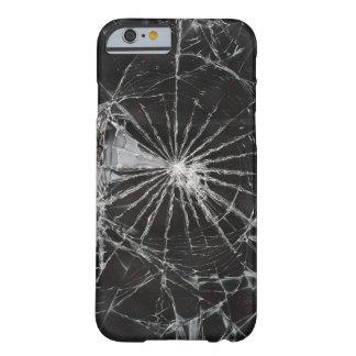 superficie de la textura de las grietas funda para iPhone 6 barely there