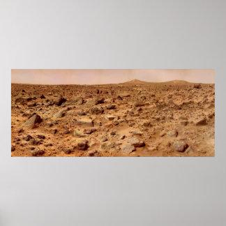 Superficie de Marte Póster