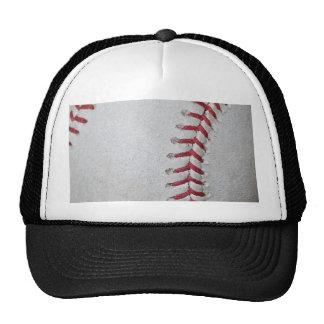 Superficie del béisbol del primer gorra
