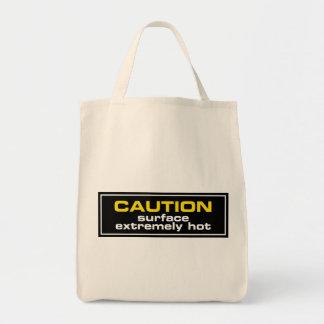 Superficie del ~ de la precaución extremadamente c bolsa tela para la compra