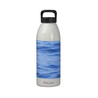 Superficie del mar del Océano Pacífico Botella De Agua Reutilizable