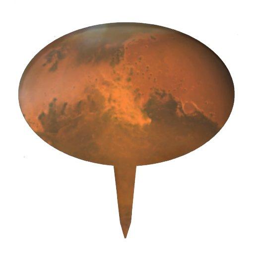 Superficie marciana de Marte (Hubble) Figura De Tarta