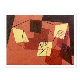 Superficies apoyadas de Paul Klee Postales
