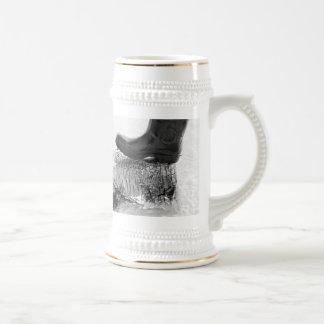 superficies del silencio jarra de cerveza