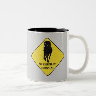 Superfilly Crossing Mug - Rachel Alexandra