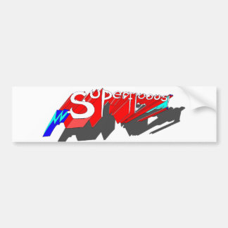 SUPERFLUOUS bumper sticker Car Bumper Sticker