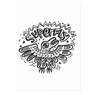 Superfly 1 postcard