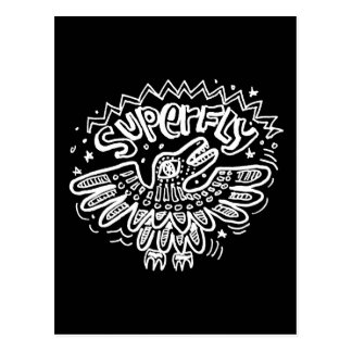 Superfly 2 postcard