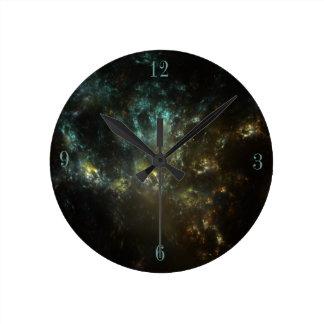 SuperGalactic Burst Round Clock