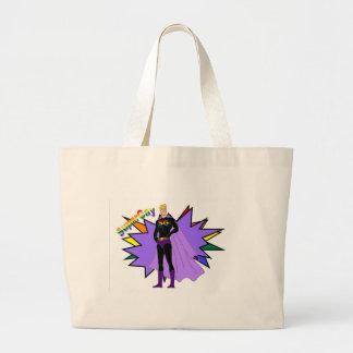 SuperGay! Large Tote Bag