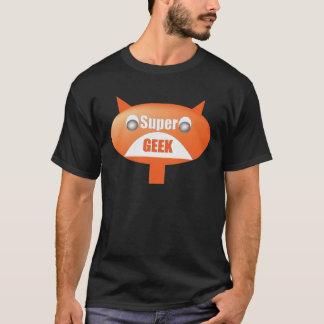 Supergeek black men t-shirt