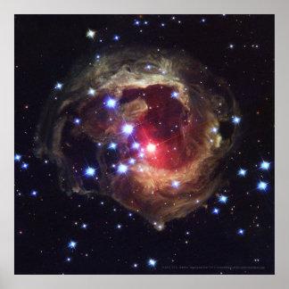 Supergiant Star V838 Monocerotis 12x12 (12x12) Poster