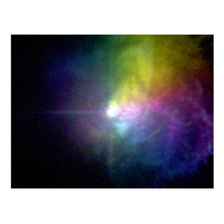 Supergiant Star VY Canis Majoris Postcard