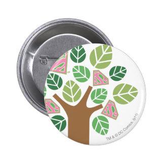 Supergirl All Natural Tree Pins