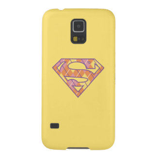 Supergirl Argyle Logo Galaxy S5 Case