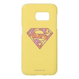 Supergirl Argyle Logo Samsung Galaxy S7 Case