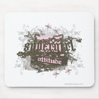 Supergirl Attitude Mouse Pad