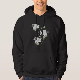 Supergirl Birds and Feathers Hoodie
