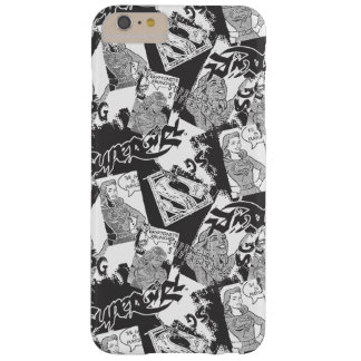 Supergirl Black and White Collage 2 Barely There iPhone 6 Plus Case