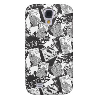 Supergirl Black and White Collage 2 Samsung Galaxy S4 Case