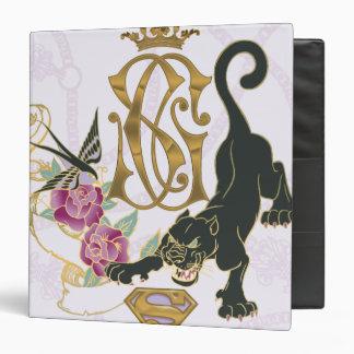 Supergirl Black Panther Vinyl Binder
