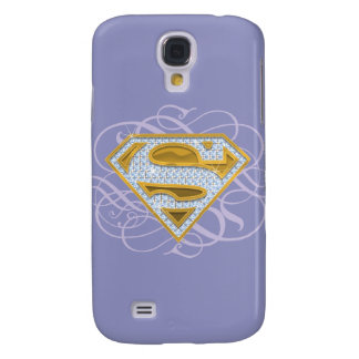 Supergirl Blue Jewels 2 Galaxy S4 Covers