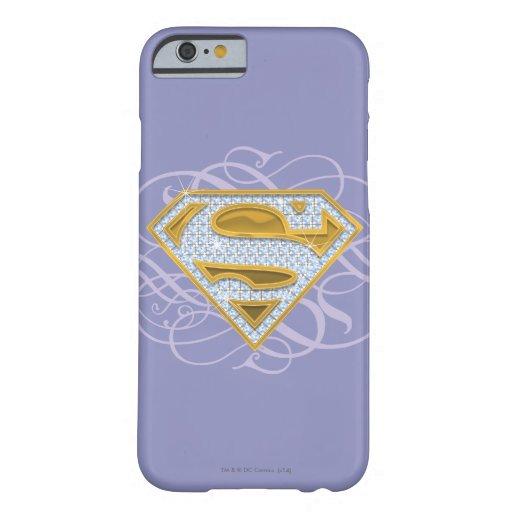 Supergirl Blue Jewels 2 iPhone 6 Case