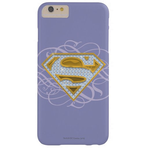 Supergirl Blue Jewels 2 Barely There iPhone 6 Plus Case