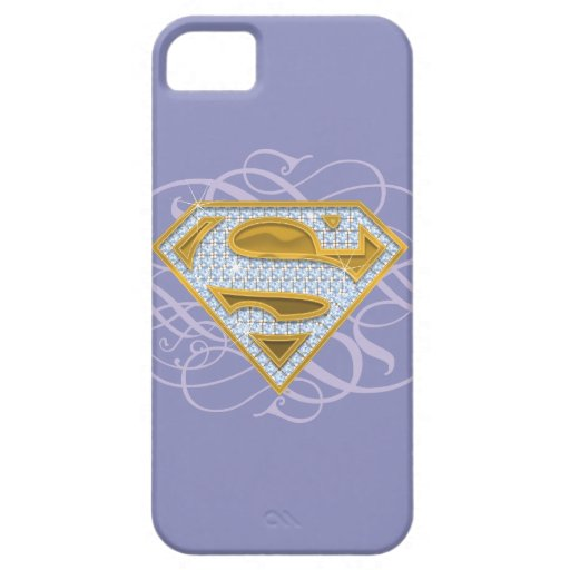 Supergirl Blue Jewels 2 iPhone 5 Cover