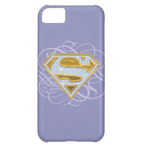 Supergirl Blue Jewels 2 Cover For iPhone 5C