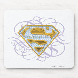 Supergirl Blue Jewels 2 Mouse Pad