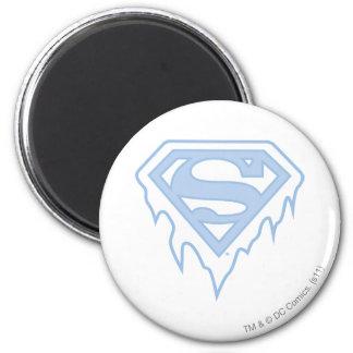 Supergirl Blue Logo 2 Inch Round Magnet